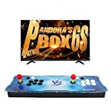 Spmywin 2020 HD Retro Arcade Video Game Console Pandoras Box 6S Arcade Machine Newest System 1280x720 Full HD Advanced CPU Support PS3 2 Player Arcade Joystick