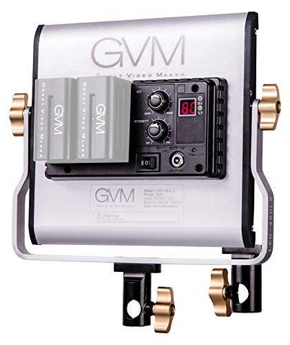 GVM Led Bi-Color Video Lights