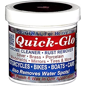 Best chrome polishes Quick-Glo - Original, 8 oz - Chrome Cleaner