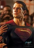 "Ata-Boy Batman v Superman Dawn of Justice Superman 2.5"" x 3.5"" Magnet for Refrigerators and Lockers"