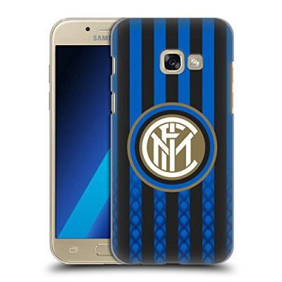 Head Case Designs Ufficiale Inter Milan Casa 2018/19 Kit Crest Cover Dura per Parte Posteriore Compatibile con Samsung Galaxy A3 (2017)