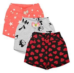 Aatu Kutty Girls' Regular Fit Shorts