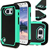 Galaxy S6 Active case, E LV Case with Protection from Drops and impacts for Samsung Galaxy S6 Active - Teal