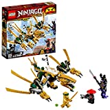 LEGO NINJAGO Legacy Golden Dragon 70666 Building Kit, New 2019 (171 Pieces)