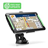 """GPS Navigation for Car, LTTRBX 7"""" Touch Screen 8GB Real Voice Spoken Turn-by-Turn Direction Reminding Navigation System for Cars, Vehicle GPS Satellite Navigator with Free Lifetime Map Update"""