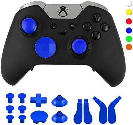 WPS Kit de Boutons de déclenchement pour Manette Xbox One Elite avec Outils Ouverts Bleu