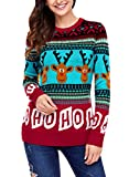 Product review for Dokotoo Womens Cute Reindeer Snowman Christmas Knit Sweater Pullovers (S-XXL)