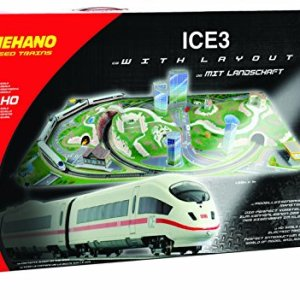 Mehano MEHANOT737 Ice 3 with Scenic Layout -Made in Slovenia, Multi Colour 51FtESzun2L