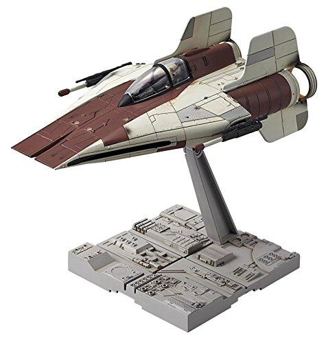 Bandai-Hobby-Star-Wars-172-A-Wing-Starfighter-Building-Kit