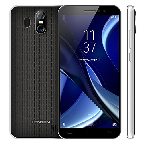 HOMTOM S16 2GB+16GB 5.5 inch Android 7.0 MTK6580 Quad Core up to 1.3GHz WCDMA & GSM (Black)