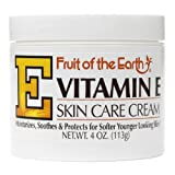 Fruit Of The Earth Fruit Of The Earth Vitamin E Skin Care Cream, 4 oz (Pack of 2)