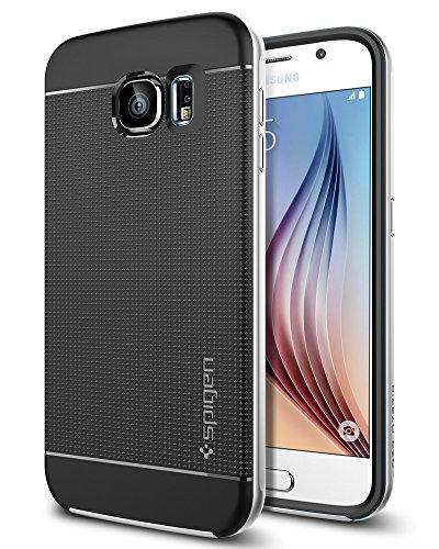 Spigen Neo Hybrid Designed for Samsung Galaxy S6 Case (2015) - Satin Silver