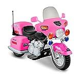 Kid Motorz 12V Patrol H. Police Ride On, Pink