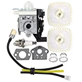 Harbot RB-K93 Carburetor with Air Filter Tune Up Kit for Echo SRM225 SRM225i SRM225U SRM225SB GT225 GT225i GT225L GT225SF PAS225 PE225 PPF225 SHC225 Trimmer