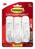 Command by 3M Large Organizing Hooks, 3 Hooks