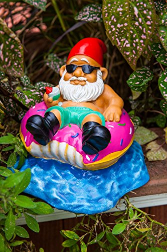 BigMouth-Inc-Donut-Worry-Be-Happy-Garden-Gnome