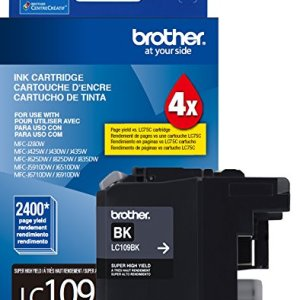 Brother Printer Ultra High Yield Inkjet Cartridge – Black (LC109BK)