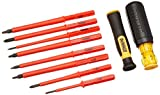 Dewalt DWHT66417 VINYL GRIP INSULATED SCREWDRIVER SET - 10 PC