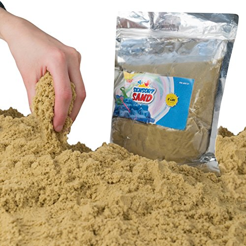 Sensory Sand (2 Pounds, Beige)