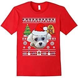 Maltese Dog Mom Shirt Christmas Love Gifts