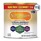 Enfamil Nutramigen Colic Baby Formula Lactose Free Milk Powder, 19.8 Ounce (Pack of 4),...