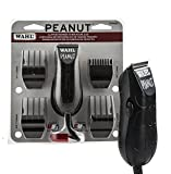 Wahl Professional Peanut Clipper/Trimmer #8655-200, Black - Great On-the-Go Trimmer for Barbers and Stylists - Powerful Rotary Motor