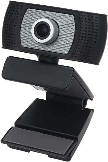Honelife 720P Web Camera HD Webcam Desktop Laptop Web Cam with Built-in Microphone for Video Calling Online Lesson