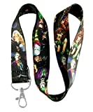 New Justice League Superhero Lanyard with Batman Superman Wonder Woman Lanyard Keychain Holder