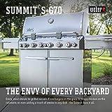 Weber Summit S-670 LP Gas Grill, 7370001