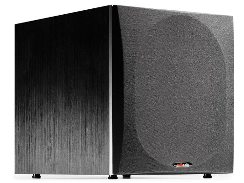 Polk Audio PSW505 12' Powered Subwoofer - High Precision Bass with Extreme Power & Wide Soundstage | Up to 460 Watts | Big Bass at a Great Value