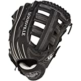 Louisville Slugger 12.75-Inch FG Pro Flare Baseball Outfielders Gloves, Black, Right Hand Throw