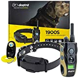Dogtra 1900S Remote Training Collar - 3/4 Mile Range, Waterproof, Rechargeable, Shock, Vibration - includes PetsTEK Dog Training Clicker