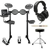 Yamaha DTX400K Customizable Electronic Drum Set with...