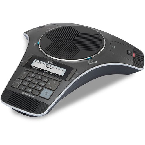 VTech Communications VCS752 ErisStation SIP Conference Phone with Two Wireless Mics