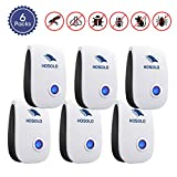 Ultrasonic Pest Repeller 6 Packs,2019 Upgrated Electric Pest Control Repellent Indoor for Bed Bugs, Cockroach, Rat, Spider, Flea, Ant, Non-Toxic, Humans and Pets Safe