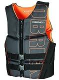 O'Brien Men's Flex V-Back Neoprene Life Vest, Orange, X-Large