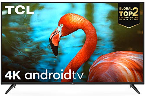 TCL 138.78 cm (55 inches)  AI 4K UHD Certified Android Smart LED TV 55P8 (Black) (2019 Model) 55