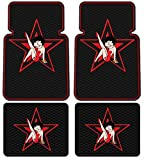 Betty Boop Star Design - 4 Pc Floor Mats