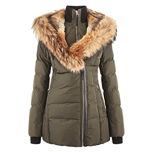 7104SNpV 1L Size : Please refer to the Product Detail below to check the Size Information Material : Outershell: 100% Polyester. Lining: 100% Polyester. Filling: 90% Duck Down, 10% Feather. Dry clean only by leather specialist.