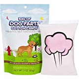 Bag Of Dog Farts Cotton Candy Funny Dog Lover Gift for All Ages Unique Birthday for Friends, Mom, Dad, Girl, Boy Funny Easter Basket Stuffer Gag Gift