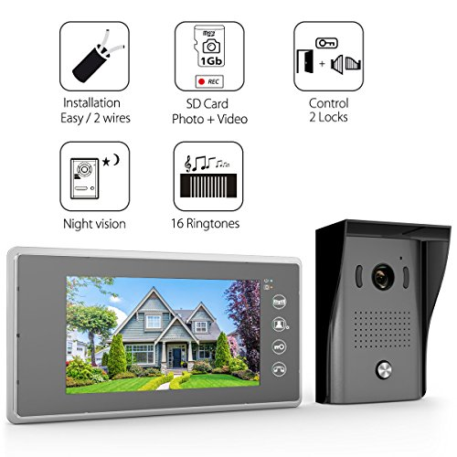 Video Doorbell With Monitor