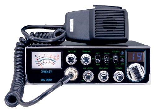 Galaxy DX-929 40-Channel CB Radio with StarLite Faceplate