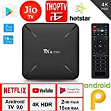 SreeTeK Android Box Tanix TX6 Mini 2GB 16GB Android Box for TV, JIO TV HotStar Netflix YouTube Miracast & More, 2.4G WiFi Smart Android TV Box 4K