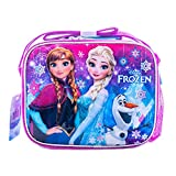 Frozen Lunch Box Insulated Anna and Elsa Disney Lunch Picnic Box
