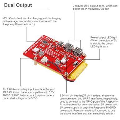 Raspberry-Pi-4-Battery-Pack-UPS-RPI-Pack-Standard-10000mAh-Raspberry-Pi-Battery-USB-Battery-Pack-Raspberry-Pi-Latest-Version-V3-Expansion-Board-Power-Supply-Type-C-for-Raspberry-4B-3B-3B-2B