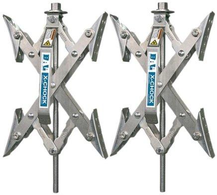 X-Chock 車輪穩定器-對-一個手柄-28012