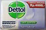 Dettol Anti-Bacterial Hand and Body Bar Soap, Sensitive, 110 Gr / 3.88 Oz