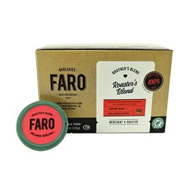 Faro-Roasters-Blend-Medium-Roast-Coffee-100-Compostable-Rainforest-Alliance-Single-Serve-Cups-for-Keurig-K-Cup-Brewers
