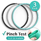 Sealing Ring for 6 Qt InstaPot - Replacement Silicone Gasket Seal Rings for 6 Quart IP Programmable Pressure Cooker - Insta Pot Accessories Fit for 6QT