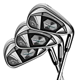 Callaway Golf 2018 Men's Rogue X Irons Set (Set of 5 Total Clubs: 6-PW, Right Hand, Synergy, Senior Flex)